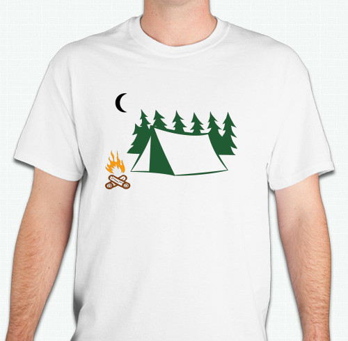 camping t shirts custom design ideas