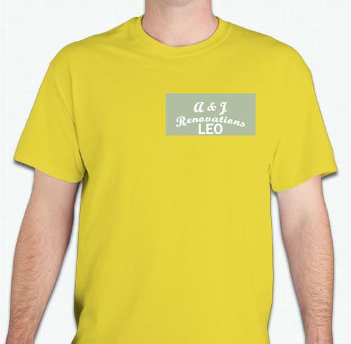 "Custom T-Shirt Design ""1235"" From OoShirts.com"