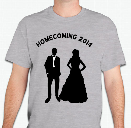 Homecoming T-Shirts - Custom Design Ideas on