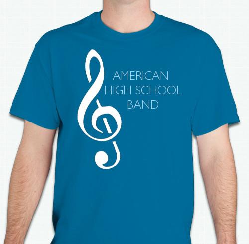 Band T-Shirts - Custom Design Ideas