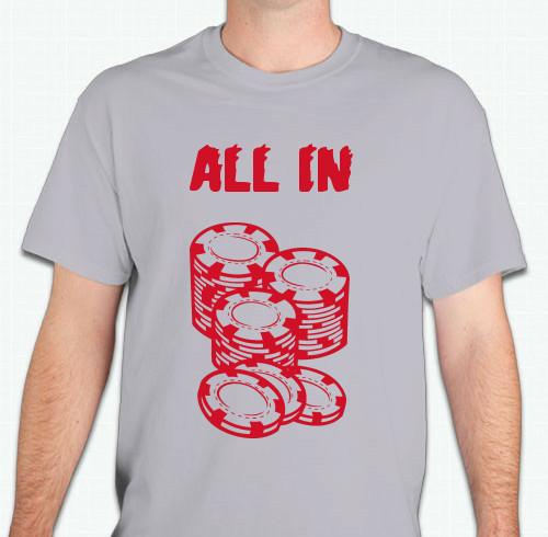 Poker T Shirts Custom Design Ideas