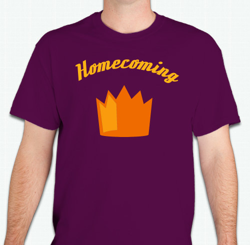 Homecoming T-Shirts - Custom Design Ideas