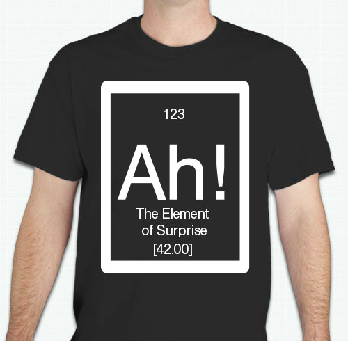 Chemistry T-Shirts - Custom Design Ideas