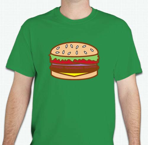 Food t shirts custom design ideas for Custom t shirt design ideas