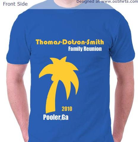 Reunion Design Ideas for Custom T-Shirts