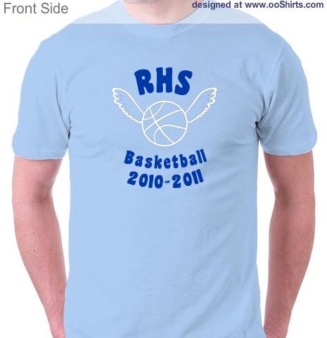 Basketball Design Ideas For Custom T-Shirts