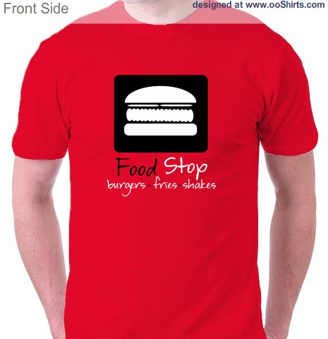 Food Design Ideas for Custom T-Shirts