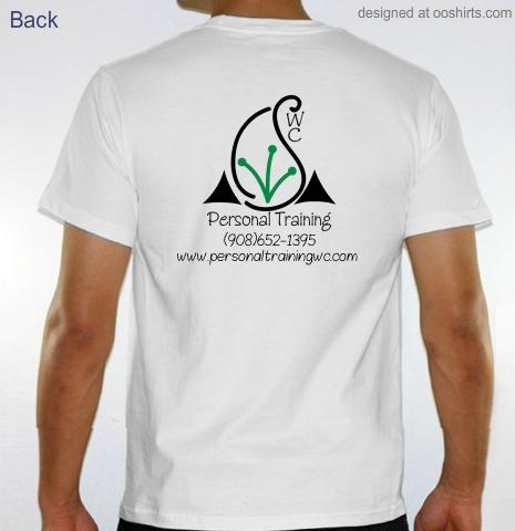 "Custom T-Shirt Design ""WC Personal Training"" From OoShirts.com"