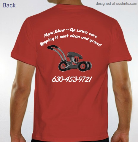 Custom t shirt design lawn care from for Lawn care t shirt designs